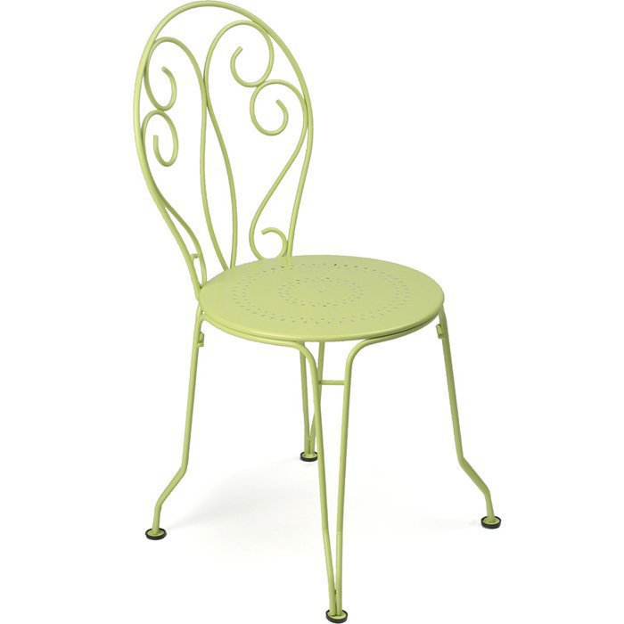 French garden chair willow green french metal garden furniture French metal garden furniture
