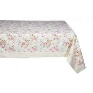 Pastorale Rectangular Floral Tablecloth