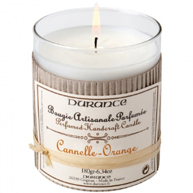Durance Orange and Cinnamon Candle