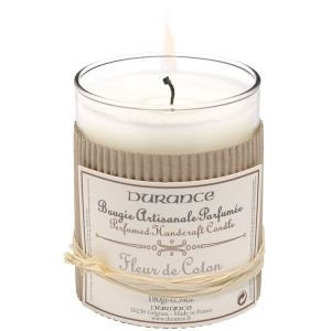 Durance Cotton Flower Candle