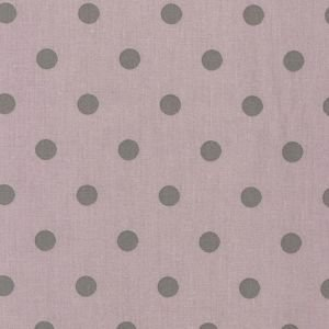 Dusty Pink & Grey Polka Dot Vintage Oilcloth