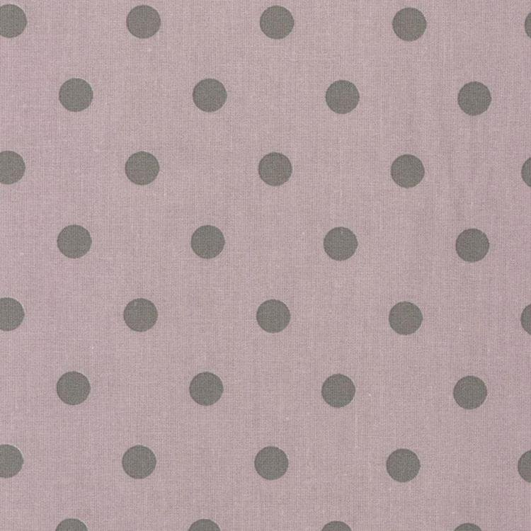 Pink and grey polka dot oilcloth oilcloth fabric for Au maison oilcloth