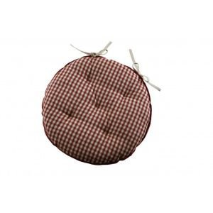 French Country Chair Pad Round