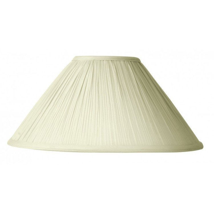 Pleated Cream Shade 35cm