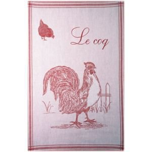 French Tea towel - Le Coq