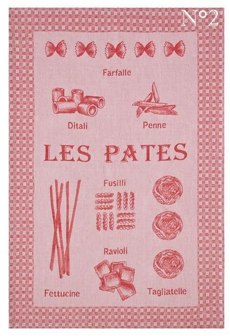 French Tea Towel - Pasta