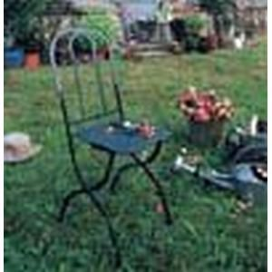 Shabby Chic Garden Castille Plus Folding Chair