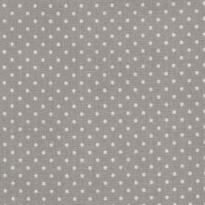 Grey Small Dot Oilcloth Material