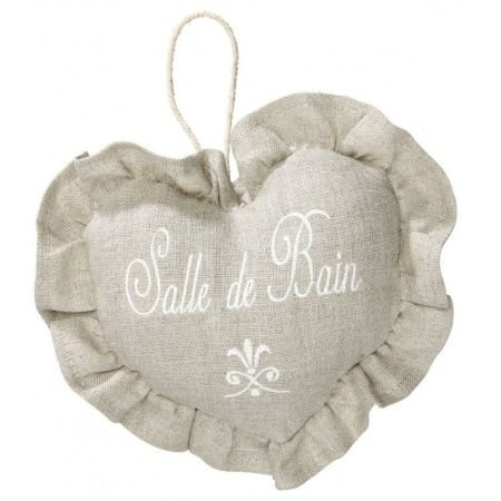 Hanging door sign - Salle de bain