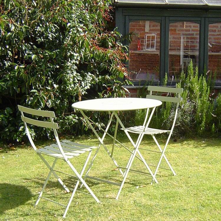 Bistro Furniture Set 60cm Table and 2 Chairs