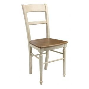 Ivory/Natural dining chair