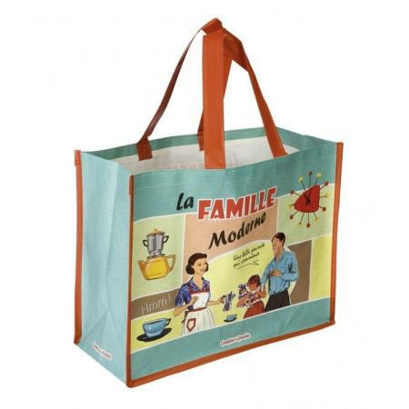 French Shopping Bag - Famille