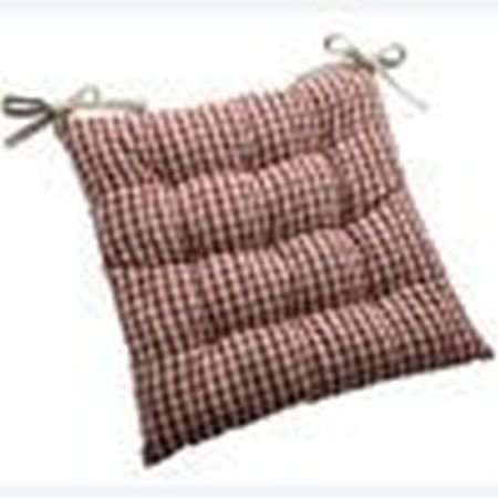 French Country Garden Seat Cushionwith Ties Garden Seat