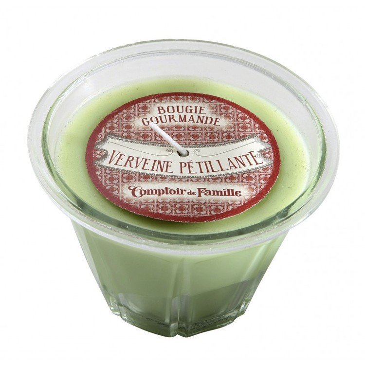 Verbena Scented French Kitchen Candle
