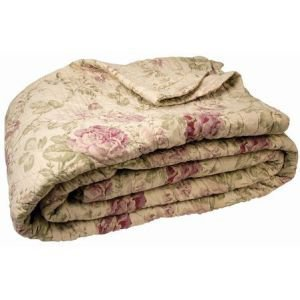 Kingsize Antique Floral Bedcover