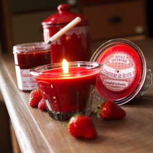 Red Fruits Scented French Kitchen Candle