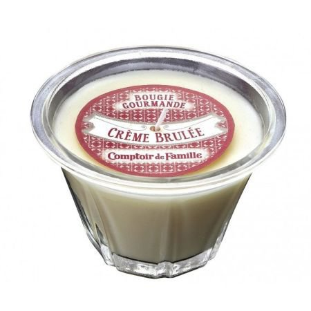 Creme Brulee Scented French Kitchen Candle