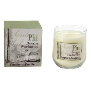 Boxed Luxury Pine French Scented Candle