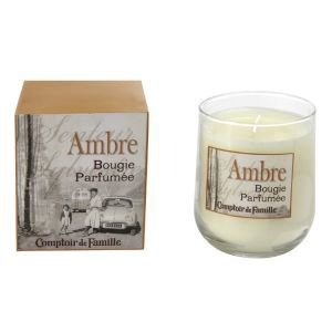 Boxed Luxury Amber French Scented Candle