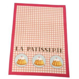 French Patisserie Tea Towel - Trois