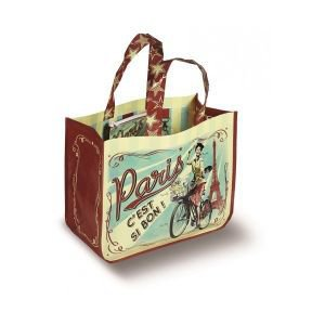 French Shopping Bag - Paris