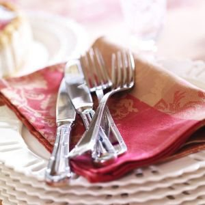 Set of 4 Baroque Table Napkins