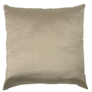 Silk Cushion - Linen