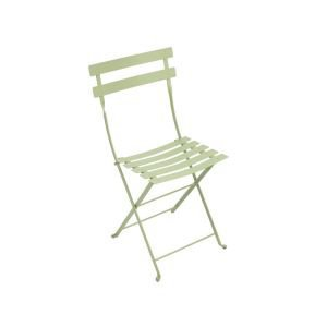 Pair of Fermob Metal Bistro Chairs - Willow Green