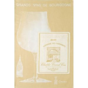 French Tea Towel - Grands Vins de Bourgogne