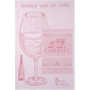 French Tea Towel - Grands Vins de Loire