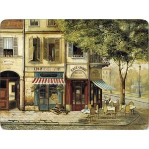 Set of 6 Parisian Scenes Placemats