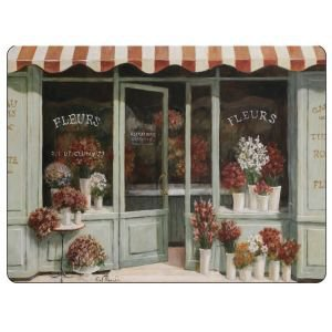 Set Of 6 Florist Shop Placemats