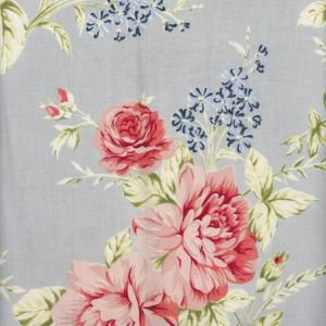 Elina Dusty Blue Oilcloth