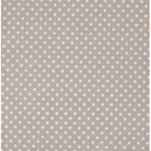 Latte Small Dot Oilcloth Tablecloth
