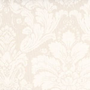 Ivory Damask Oilcloth Tablecloth