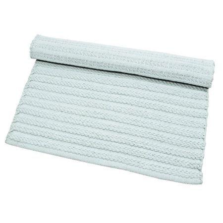 Rope rug aqua towels and bathmats for Rope bath mat
