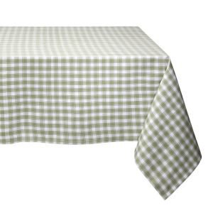 Green Check Table Cloth 150x250cm