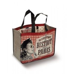 French Shopping Bag - Paris Je T'aime