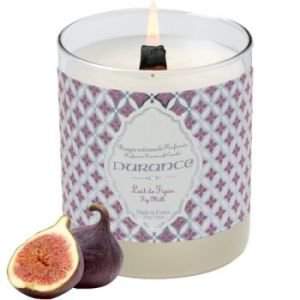 Durance Crackling Wick Candle - Fig Milk