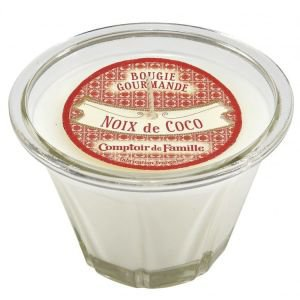 Coconut Scented French Kitchen Candle