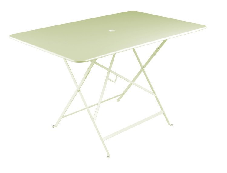 Rectangular bistro table 77 x 117cm french metal garden for Table 140 x 80 design