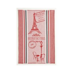 French tea towel - Paris Bistrot Stripe