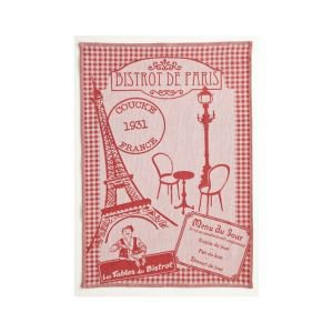 French tea towel - Paris Bistrot