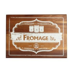 Rectangular Wooden Fromage Board
