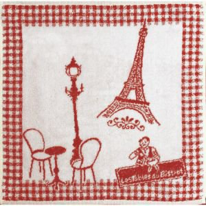 Terry Kitchen Hand Towel - Eiffel Tower