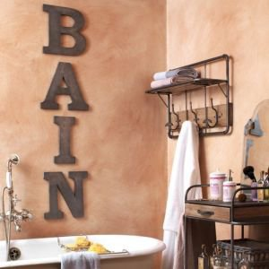 Decorative letters BAIN