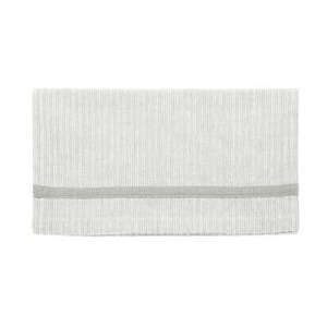 Grey Ticking Table Runner