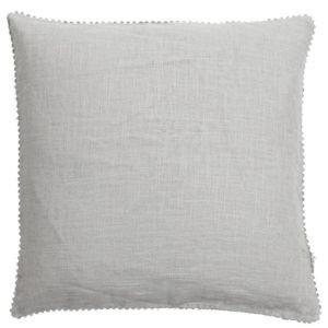 Linen Eyelet Voile Curtain Toile De Jouy Cushions