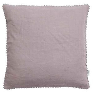 Linen Mix Cushion - Lavender