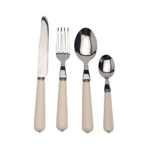 24 Piece Bistrot Cutlery Set - Ivory